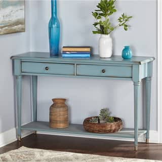 Simple Living Emilia Blue Sofa Table|https://ak1.ostkcdn.com/images/products/12364613/P19190842.jpg?impolicy=medium