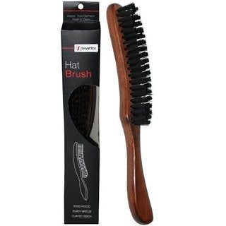 SmartCare Brown Wood Hat Brush