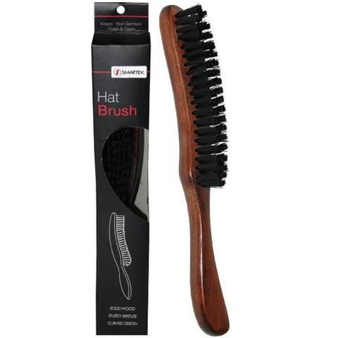 SmartCare Brown Wood Hat Brush