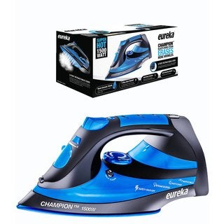 Eureka Champion Blue 1500-watt Iron with 8-foot Retractable Cord