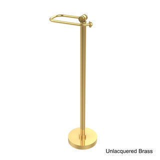 Allied Brass Southbeach Collection Free Standing Toilet Tissue Holder