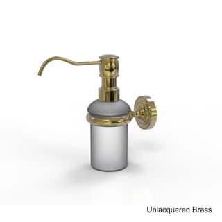 Allied Brass Dottingham Collection Wall-mounted Soap Dispenser|https://ak1.ostkcdn.com/images/products/12364664/P19190836.jpg?impolicy=medium