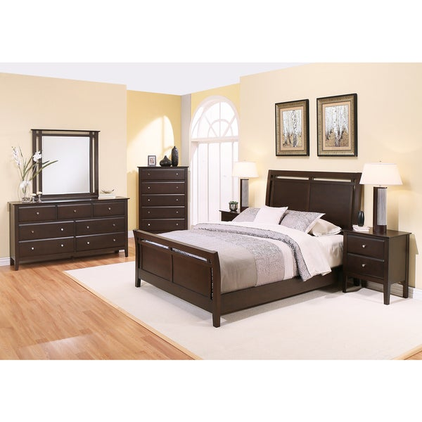 Shop Abbyson Marsala 6 Piece Bedroom Set Free Shipping Today 12364678