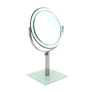 Rucci Double-sided Glass Base 7x/1x Magnification Mirror
