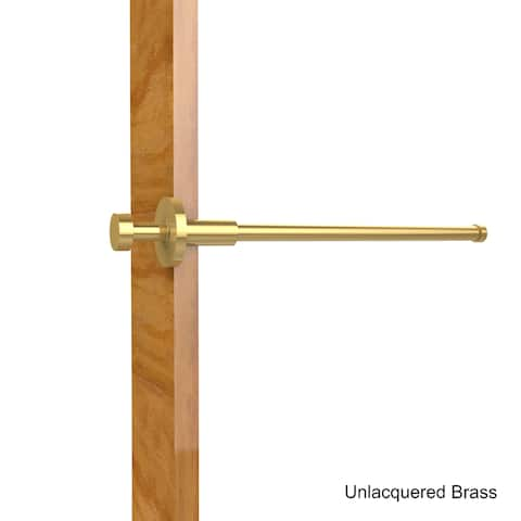Allied Brass Fresno Collection Retractable Pullout Garment Rod