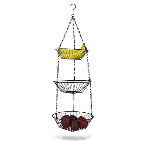 Hanging 3-Tier Basket