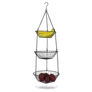 Shop Hanging 3 Tier Basket Free Shipping On Orders Over