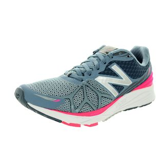 New Balance Women's Vazee Pace Light Grey with Pink Zing & Grey Running Shoe