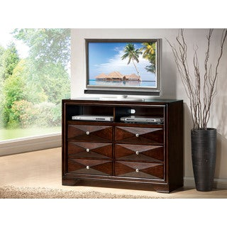 Windsor Merlot 6-Drawer TV Console