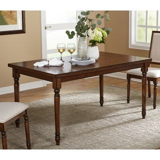 Simple Living Venus Vintage Oak Rectangle Dining Table