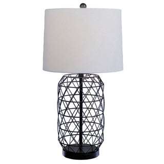 Nadia Black-finish Iron Table Lamp