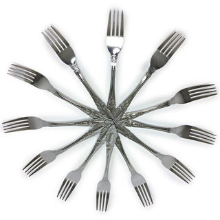 Chef Valley Prima Collection Stainless Steel Forks (Case of 12)