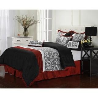 Aubrey Reversible 7-piece Comforter Set