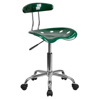 Saddle Green Tractor Seat Home Office Chair
