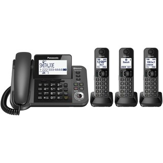 Panasonic Link2Cell Bluetooth Corded/Cordless Phone and Answering Machine (2 options available)