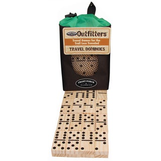 University Games Outfitters Dominoes Game