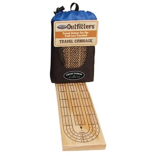 University Games Outfitters Cribbage Game
