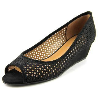 FS/NY Women's Necessary Black Leather Dress Shoes