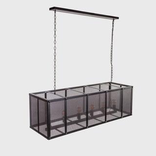 Hans Andersen Home Eller Black Metal/PVC Chandelier
