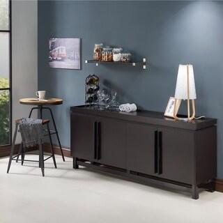 Furniture of America Lofi Modern 70-inch 8-shelf Buffet Cabinet