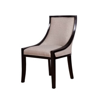 Somette Beige Linen Multiuse Accent Chair