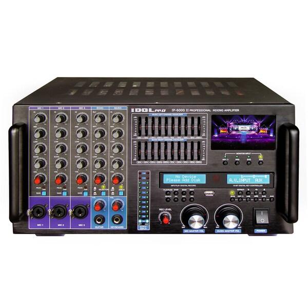 Idolpro 8000w Ip 6000 Ii Bluetooth Hdmi Recording Lcd