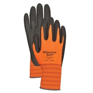 Hi-Visibility Orange Polyester with Nitrile L