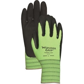 Hi-Visibility Green Acrylic with Double Nitrile M