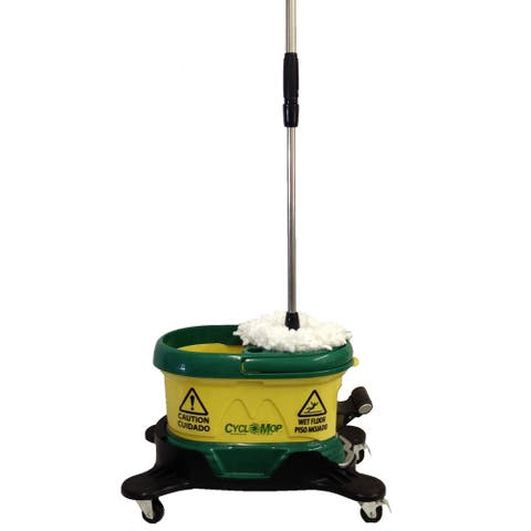 "Bissell Commercial CM500D-GRN ""Cyclomop"" Spin Mop"
