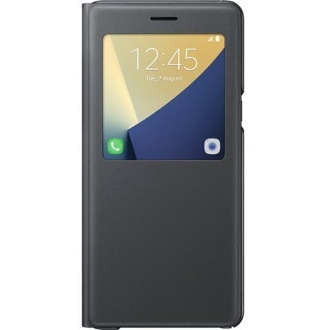 Samsung S-View Carrying Case (Flip) Smartphone - Black
