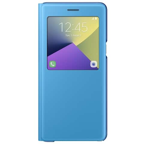 Samsung S-View Carrying Case (Flip) Smartphone - Blue