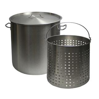 Chard 24-Quart Stock Pot with Basket