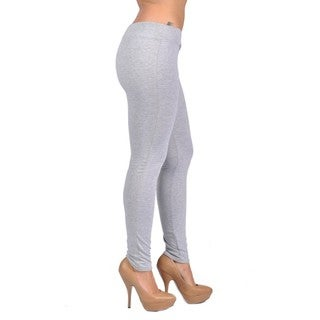 C'est Toi Pull-on-style Grey Leggings