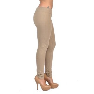 C'est Toi Pull-on Style Khaki Leggings
