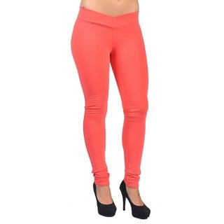C'est Toi Pull-on Style Orange Leggings