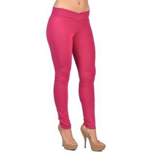 C'est Toi Pull-on Pink Leggings