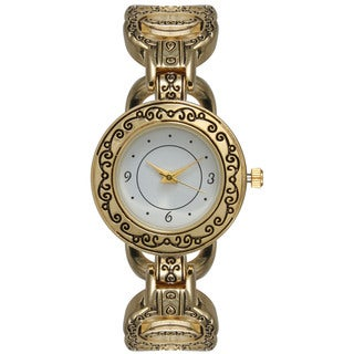 Olivia Pratt Women's Glamorous Antique-looking Watch