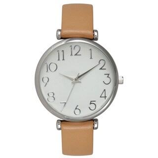 Olivia Pratt Women's Modern Leather Watch