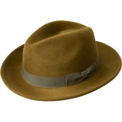 f607689ca1a65 Shop Men s Bailey of Hollywood Criss Wide Brim Hat 71001BH Citron - Free  Shipping Today - Overstock - 12366973