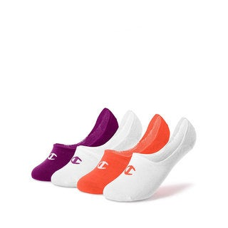 Champion Women's Performance Liner Socks (Pack of 4 Assorted Pairs)