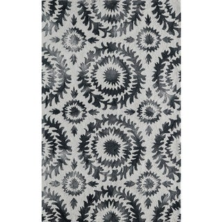 Hand-Hooked Cyprian Polyester Rug (2'3 x 7'6)