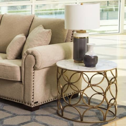Buy White, Drum Tables Online at Overstock | Our Best Living Room ...
