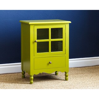 ABBYSON LIVING Riley Wood Side Cabinet