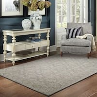 Soothing Traditions Loop Pile Grey/ Stone Rug - 8' x 10'