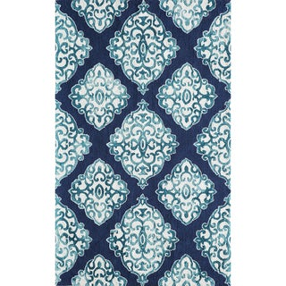 Hand-Hooked Augusta Polyester Rug (3'6 x 5'6)
