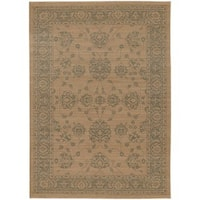 Persian Inspirations Ikat Sand/ Grey Rug (9'10 x 12'10)