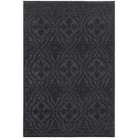Silver Orchid Loury Jacquard Luxe Navy/ Blue Rug