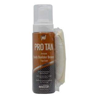 Pro Tan Instant Body Builder 7-ounce Bronze Top Coat With Hand Mitt