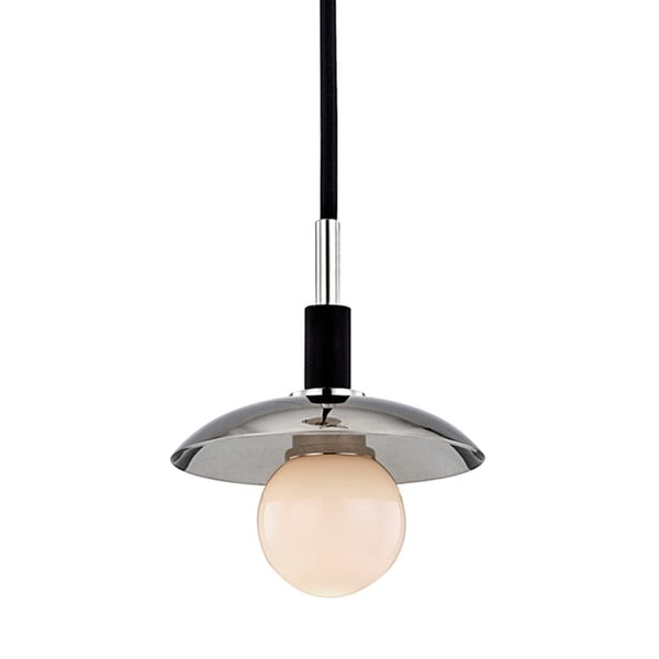 Hudson Valley Julien 1-Light Polished Nickel Pendant