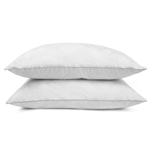Journee Home 300 Thread Count Down Alternative Pillow (Set of 2)